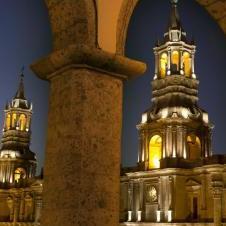 Cathédrale à Arequipa