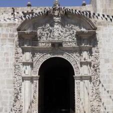 Eglise de Santo Domingo à Arequipa