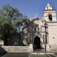 Eglise de Yanahuara à Arequipa