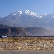 L'aéroport international Rodriguez Ballon à Arequipa