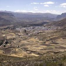 Mirador de Tapay à Canyon del Colca