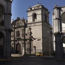 Place des armes à Arequipa