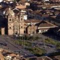 Place des armes à Cusco