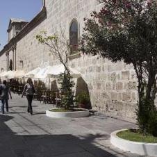 ruelle pietonne à Arequipa